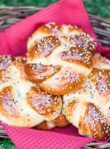 Португальские булочки со сгущенкой