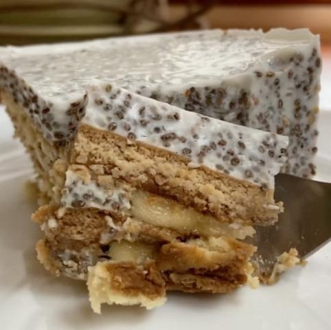 Кофейный десерт из печенек