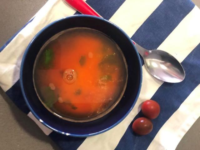 Суп томатный со сливками