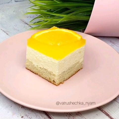 Апельсиновый тортик
