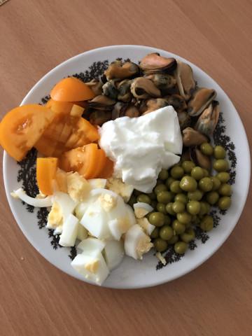 ПП салат «Белковая бомба»