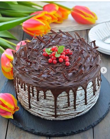 Длинный тортик