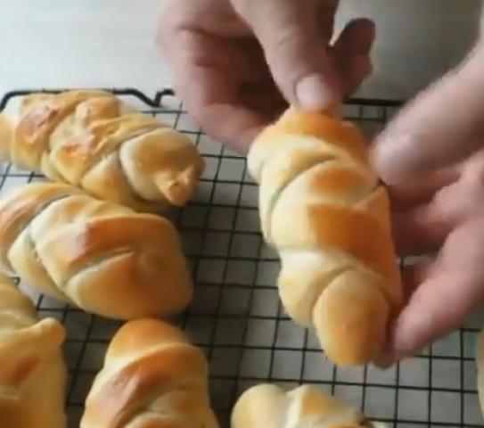Булочки с сыром и зеленью