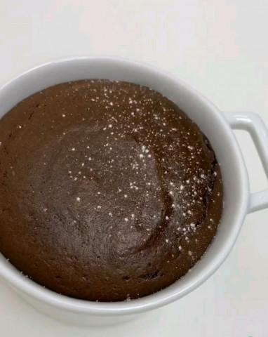 Шоколадный фондан из 3 ингредиентов Колличество порции зависит от формы