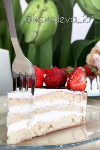 Торт «Сливочный»