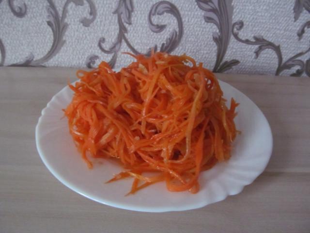 Морковка по-корейски ПП