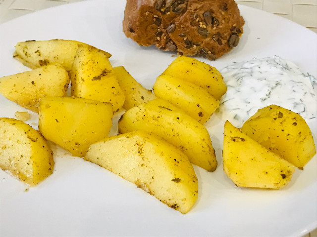 Картошка 🥔 по деревенски