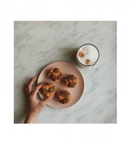 Кукурузные кексы с шоколадом