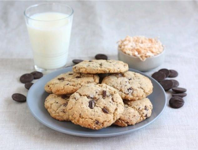 Печенья с шоколадом.🍫