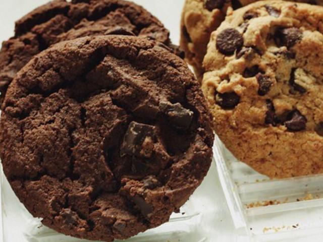 Печенье с шоколадными кусочками и кешью