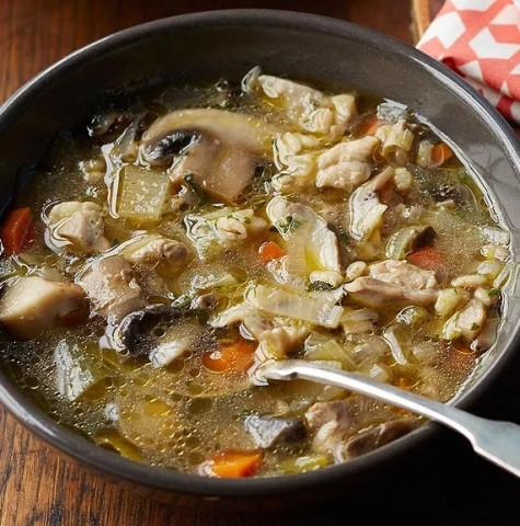 Куриный суп в китайском стиле
