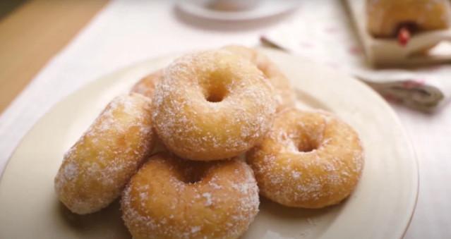 Пончики на картофельном тесте