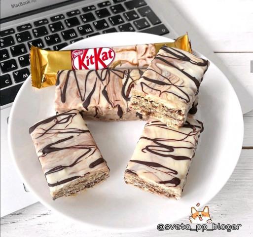 ПП-батончик Киткат в белом шоколаде
