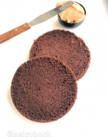 Самый вкусный шоколадный бисквит