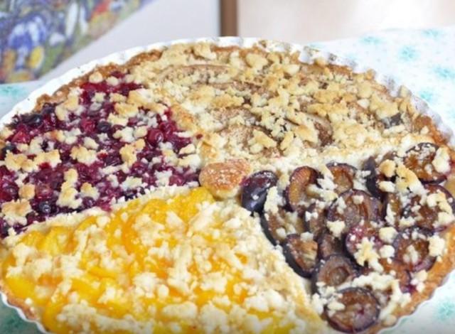 Пирог фруктовый