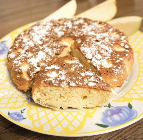 Бананово-грушевый пирог 🍌🍐