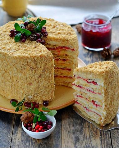 Рубленный торт