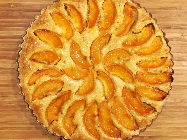 Тарт с абрикосами
