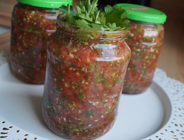 Соус из помидоров и перцев