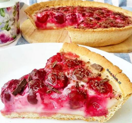 ПП-вишневый тарт