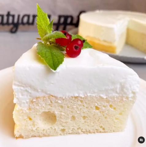 Йогуртовый торт 95 ккал👌