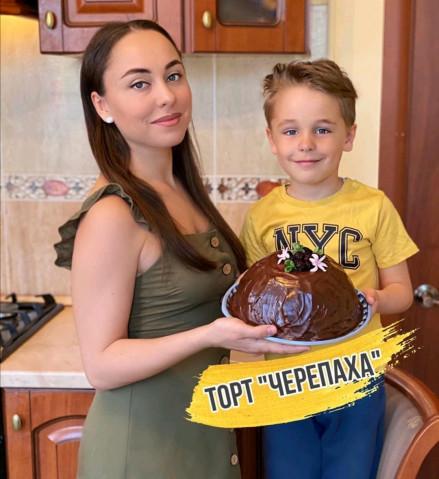 "Торт ""Черепаxa"""