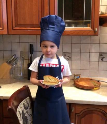 Пирог с варёной сгущёнкой