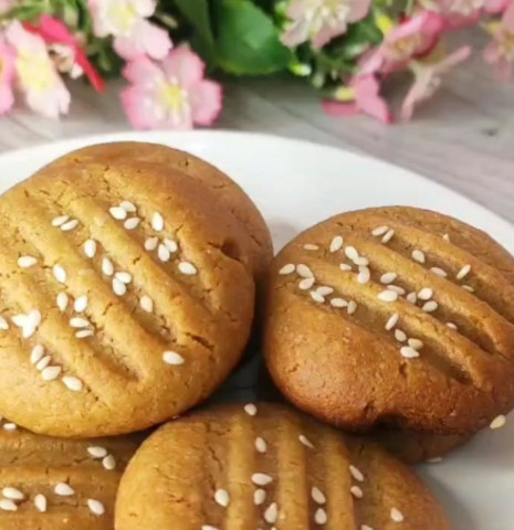 Кунжутное печенье ПП