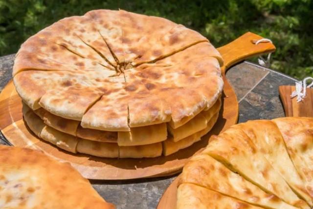 Ленивый осетинский пирог Сабурани