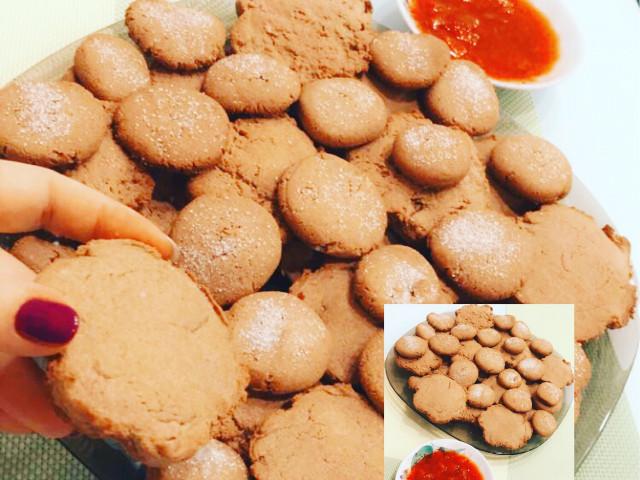 Гречневые печенье