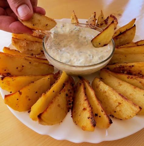 Картофель по-среднерусски в духовке