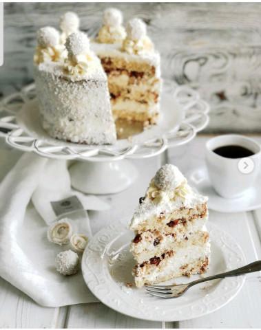 Торт «Рафаэлло»🎂