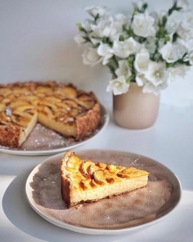 Самый вкусный персиковый 🥧 🍑 пирог
