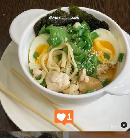 Суп «Рамен» с курицей