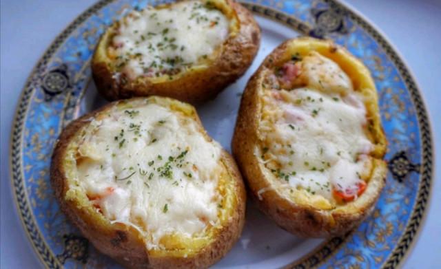 Запечённая картошка