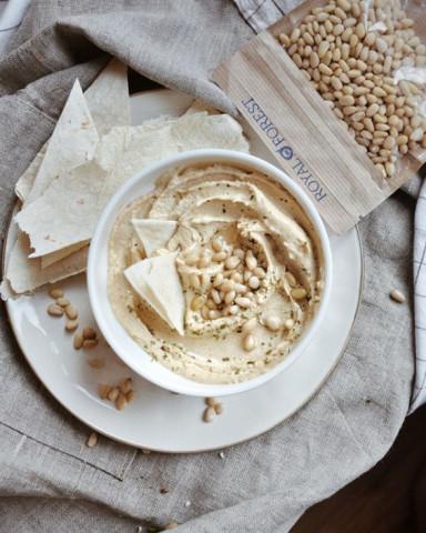 Рецепт хумуса с тыквенными семенами