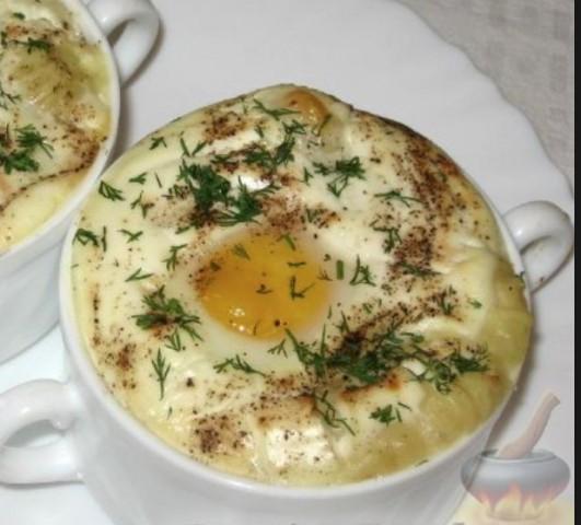 Яйца «Пармантье»