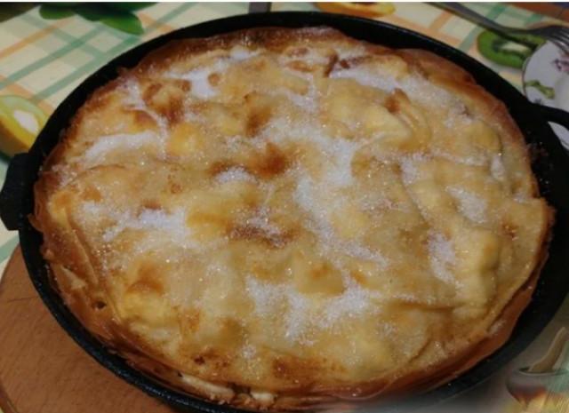 Слоеный болгарский пирог