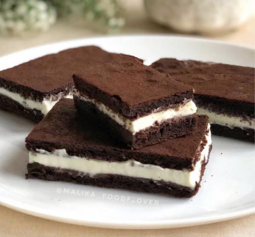 Пирожные «Молочный ломтик»