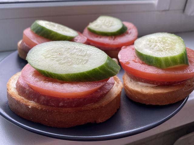 Бутерброды к праздничному столу 🥪