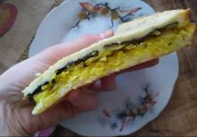 Заливной пирог с капустой - фото приготовления рецепта шаг 6