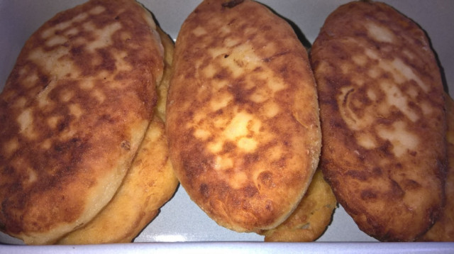 Картофельники (зразы) с квашеной капустой (по бабушкиному рецепту)