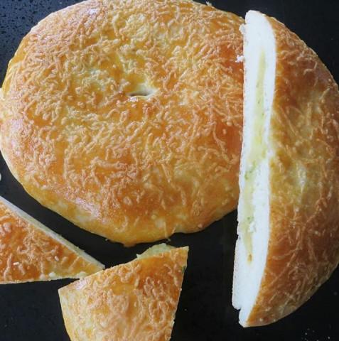 Лепешка с картофелем