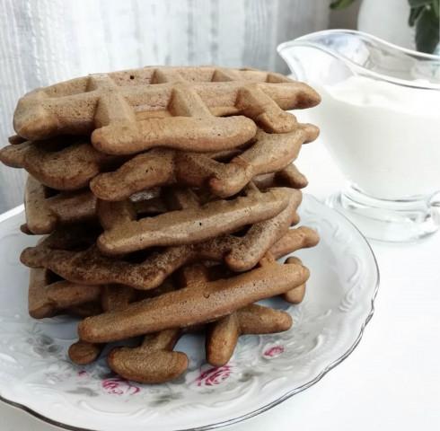 Пп-венские шоколадные вафли