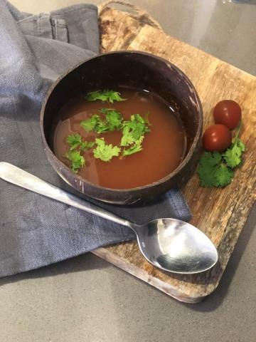 Томатный суп из томатной пасты