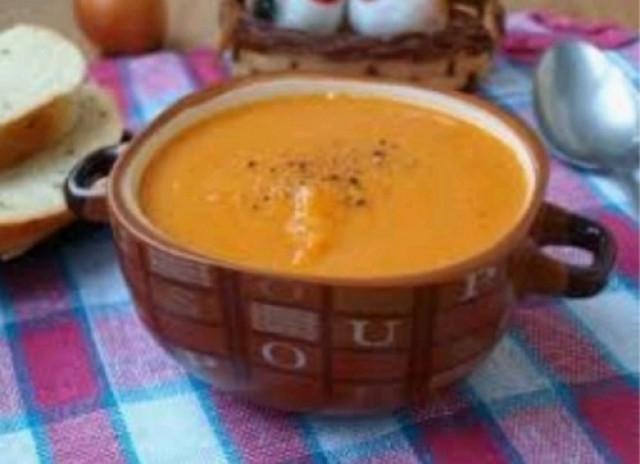 Тыквеный суп-пюре с чечевицей