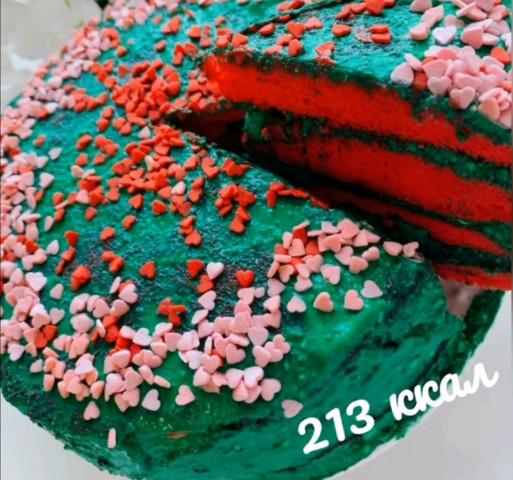 """Пп торт """"Красный бархат"""""""