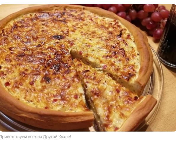 Швабский луковый пирог