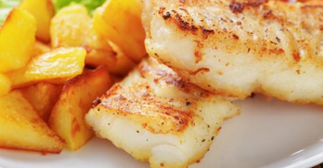 Треска с картофелем