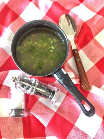 Суп с фасолью консервированной и фрикадельками